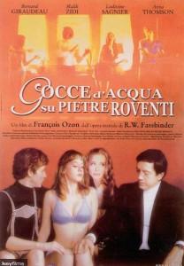 GOCCE D'ACQUA SU PIETRE ROVENTI